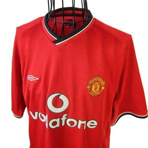 Umbro Manchester United Football Club Jersey